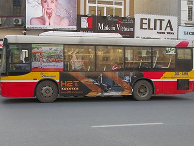 Quảng cáo xe bus Hà Nội 3